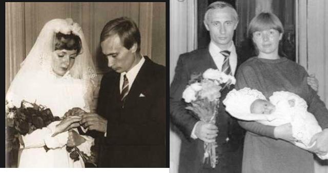 Vladmir Putin Wife