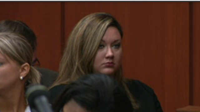 George Zimmerman's wife
