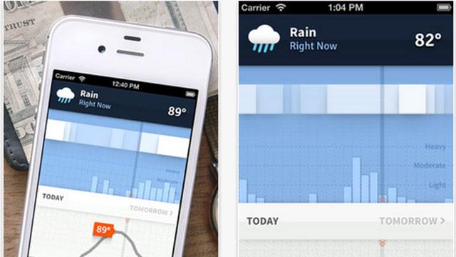 best new iphone ipad apps weathertron