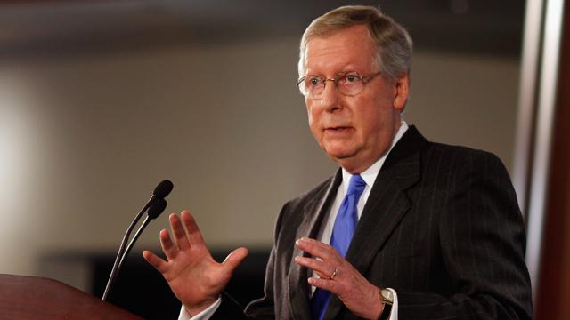 Mitch McConnel, minority leader, republican