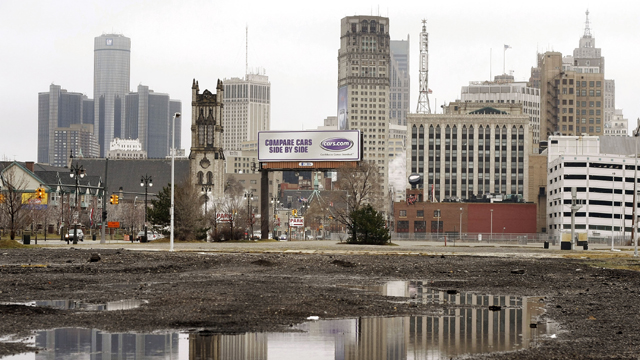A view of downtown Detroit  (Getty Images)