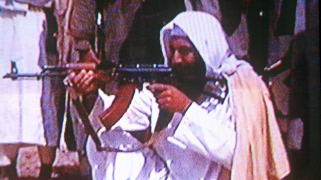 Osama bin Laden, terrorist, gun, terrorism,