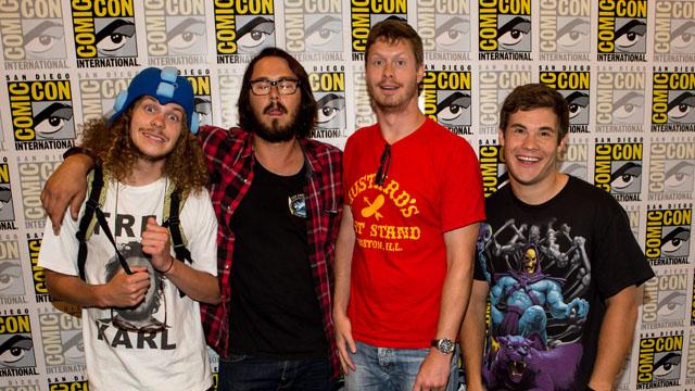 "Comic-Con International 2012 - ""Workaholics"" Panel"