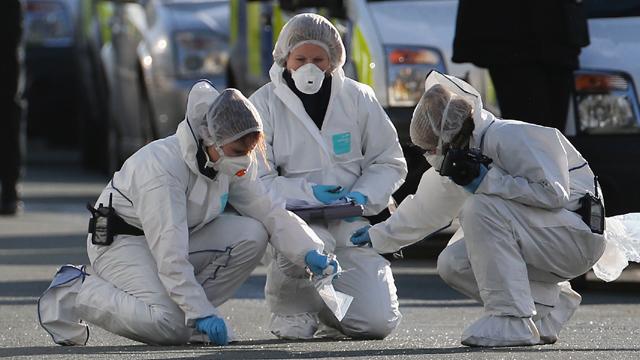 Police Officers Shot During Arrest Of Murder Suspect In Manchester