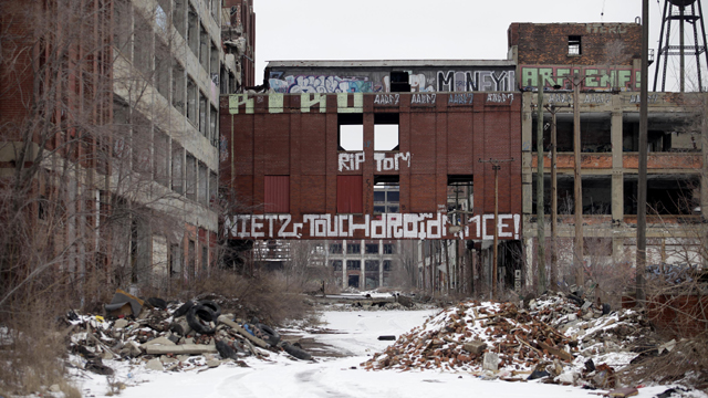 The former Detroit Packard Plant (Getty Images)