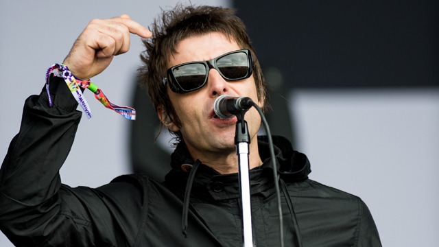 Liam Gallagher of 'Beady Eye' performs live (Getty Images)
