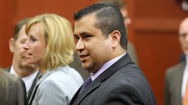 george zimmerman, trial, not guilty
