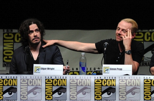 The World's End: Edgar Wright, Simon Pegg And Nick Frost Reunited - Comic-Con International 2013
