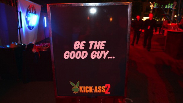 Playboy And Universal Pictures Kick-Ass 2 Event At Comic-Con Sponsored By AXE Black Chill - Inside