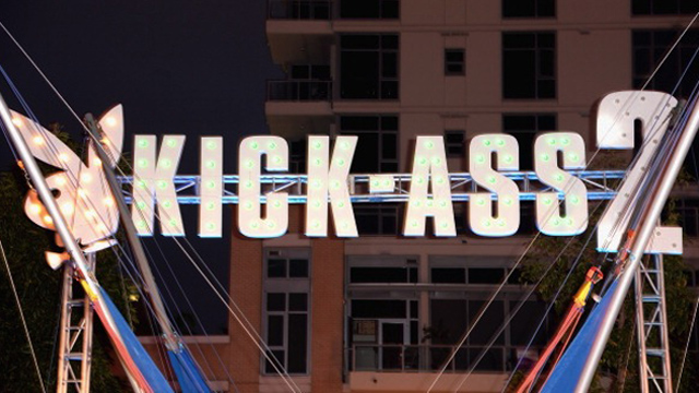 """Playboy And Universal Pictures' """"Kick-Ass 2"""" Event At Comic-Con Sponsored By AXE Black Chill - Inside"""