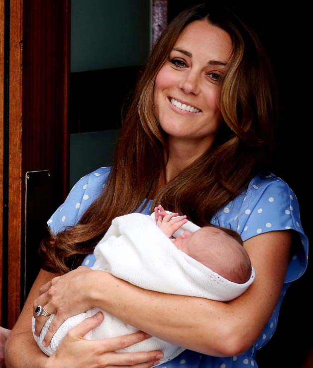 Royal Baby, King George, Heir, Heir to Throne, Prince George, Lord Louis Mountbatten, Prince Philip, Uncle, 43rd English monarch, Great Great Grandfather, George VI, George VII, George Alexander Louis, Prince George Alexander Louis of Cambridge, Queen Elizabeth, Kate Middleton, Prince William, Kensington Palace, Duchess Kate,