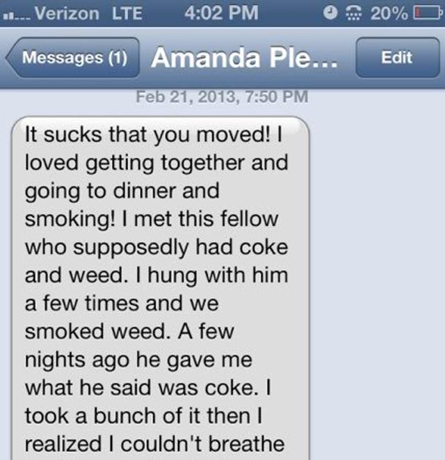 Amanda Bynes text