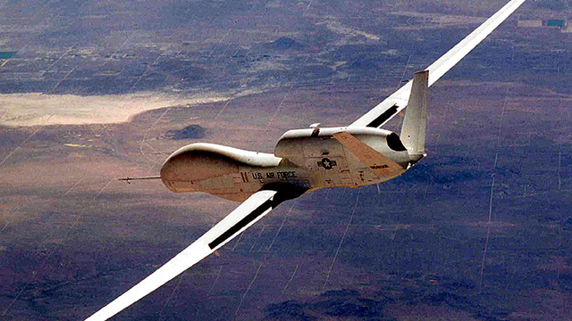 The Air Force's Global Hawk Unmanned Aerial Vehicle  (Getty Images)