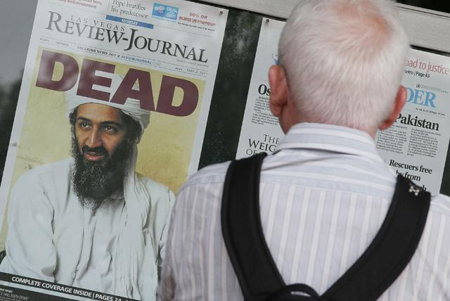 osama bin laden, killed, americans, newspaper, washington