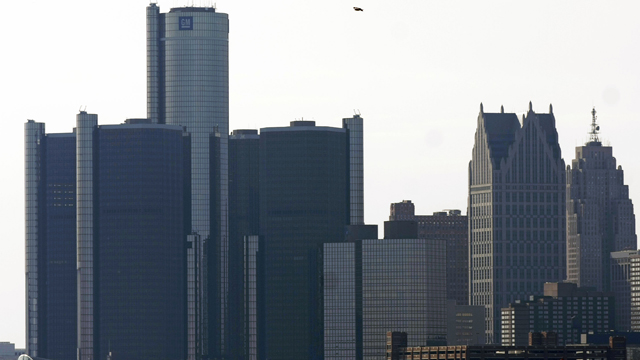 Detroit files for bankruptcy, Kevyn Orr, Chapter 9.