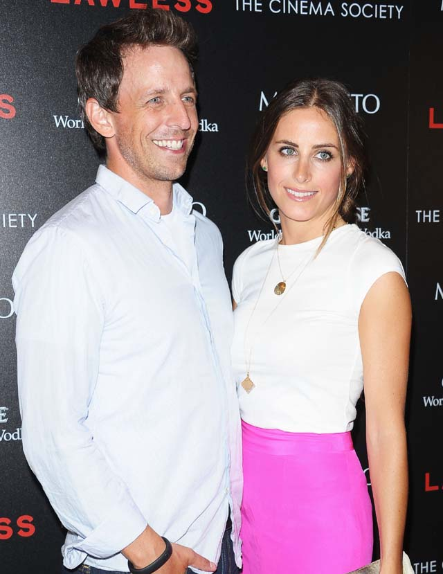 Seth Meyers, Alexi Ashe, SNL, Engaged