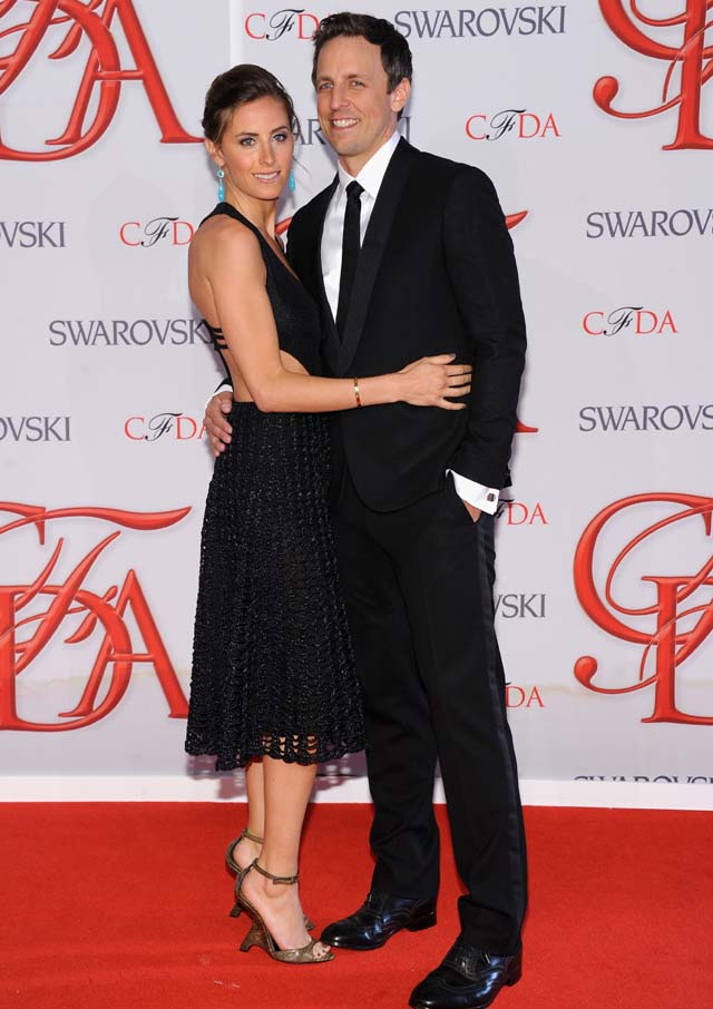 Alexi Ashe, Seth Meyers Engaged, CFDA, Awards, SNL