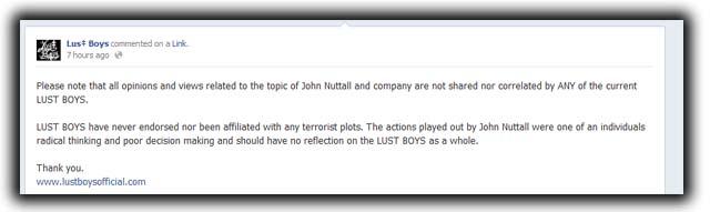 Amanda Marie Korody John Nuttall Canada Day Terror Bomb Plot