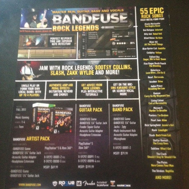 bandfuse rock legends preview