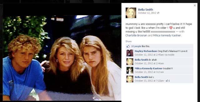Isabella, Charlotte Brosnan, Bella Smith, Pierce, Ovarian Cancer, Death