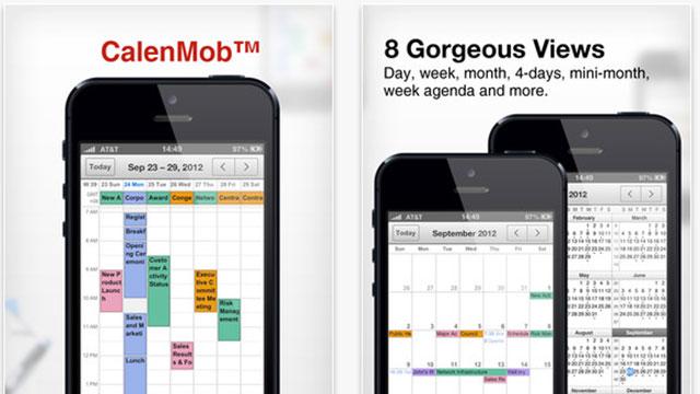 best calendar apps for iphone calenmob