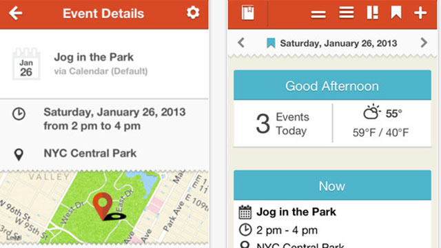 best calendar apps for iphone event book
