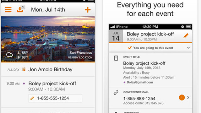 best calendar apps for iphone tempo smart calendar