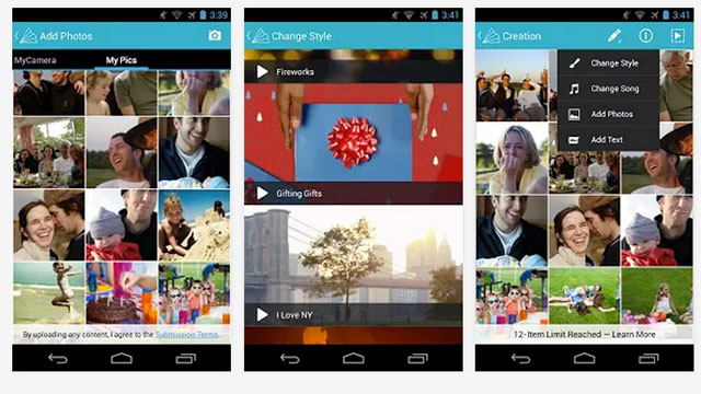 best android apps animoto video maker