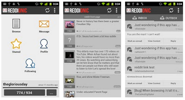 best reddit app for android reddionic