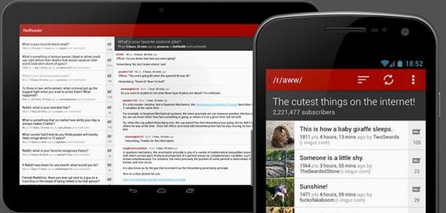 best reddit app for android redreader beta