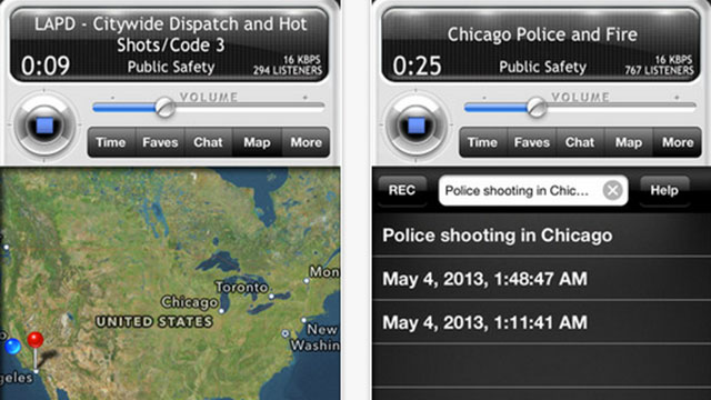 best utility apps for iphone 5 0 radio police scanner lite