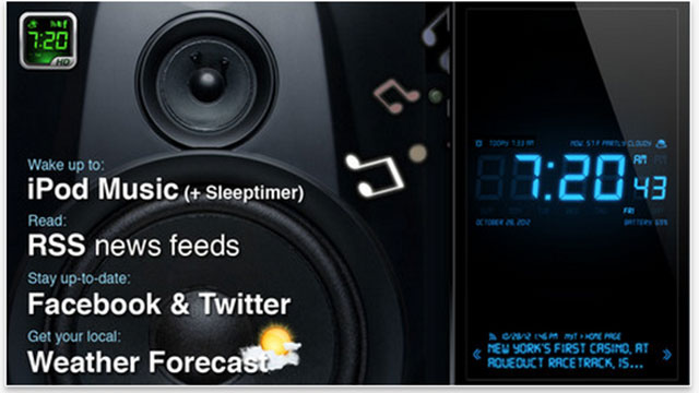 best utility apps for iphone alarm clock hd
