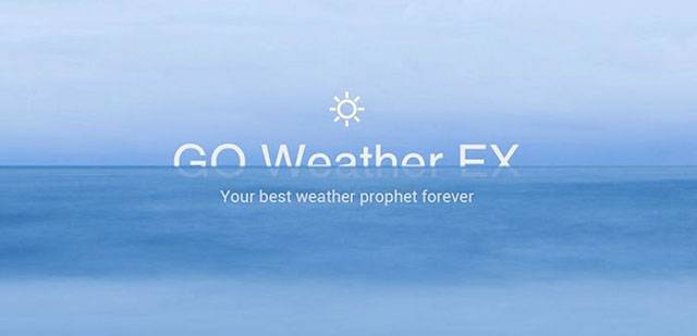 best weather apps for android GO weather forecast and widgets