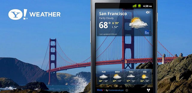 best weather apps for android yahoo weather