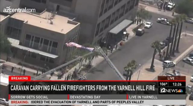 yarnell hill fire arizona firefighters dead