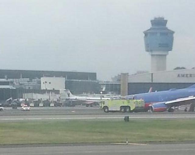 LaGuardia Plane Crash Southwest Airlines Landing Gear