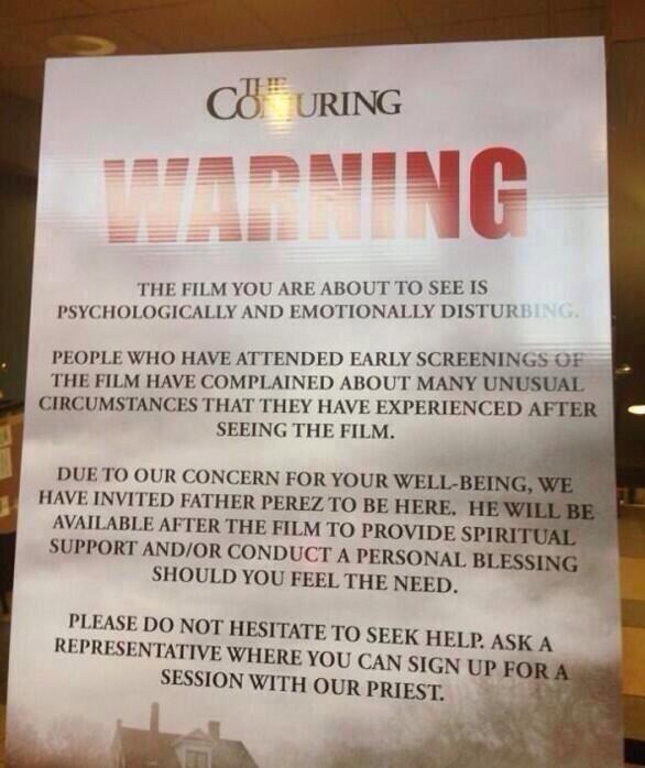 the conjuring warning priest