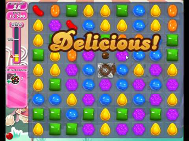 Candy Crush attention tip