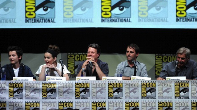 """""""Enders Game"""" And """"Divergent"""" Panels - Comic-Con International 2013"""