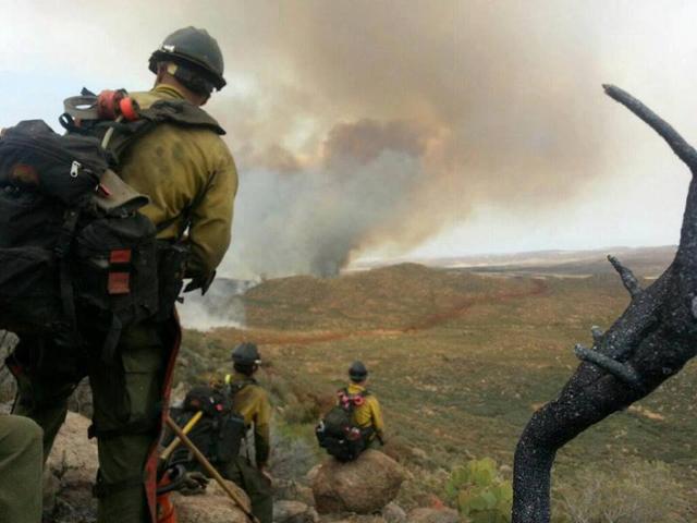 Final photograph of Prescott Granite Mountain Hotshots
