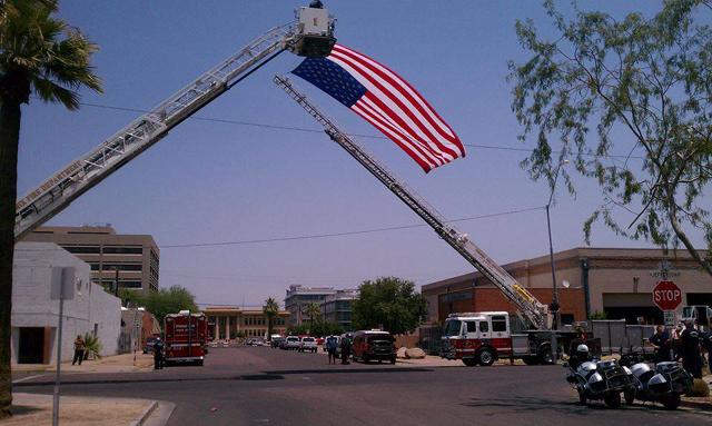 Prescott Firemen hotshots bodies memorial