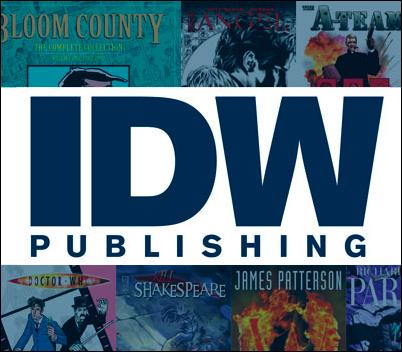 IDW San Diego Comic Con