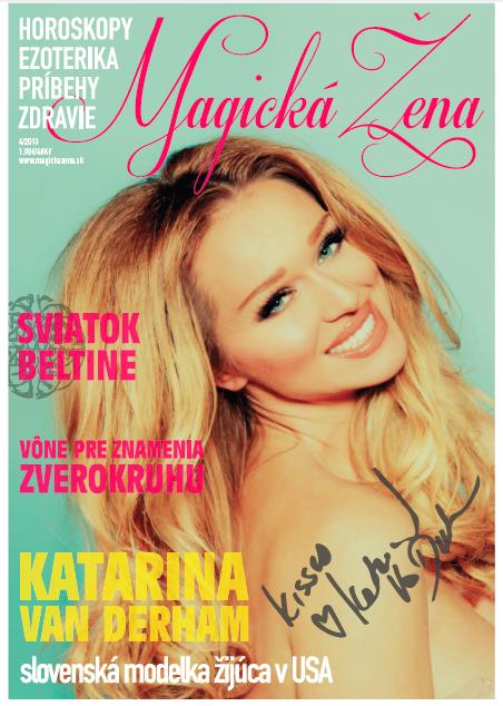 Katarina Van Derham, Mystery Blonde, Kanye West, Viva Glam Magazine, Model