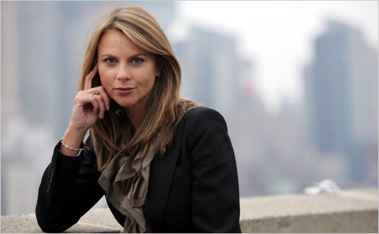 Lara Logan, reporter who was raped in Tahrir Square during the arab spring 2 years ago.