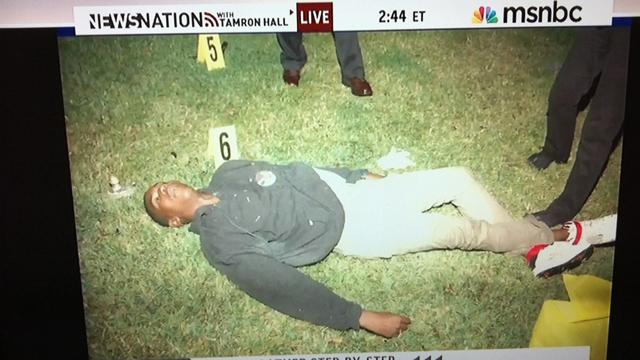MSNBC TRAYVON MARTIN dead body