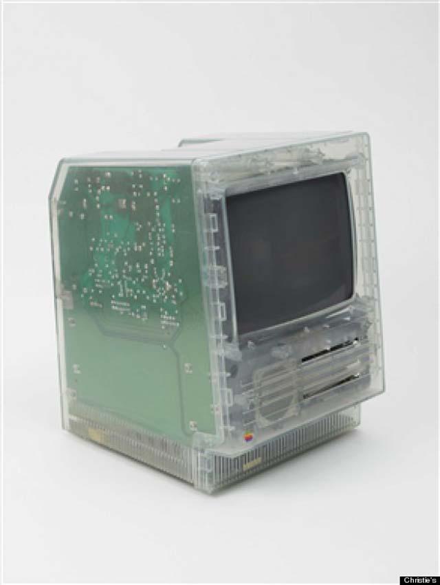 Translucent Macintosh SE Case