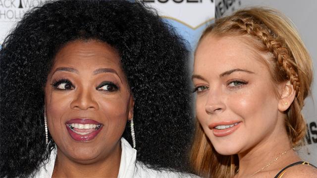 oprah lindsay lohan tv show