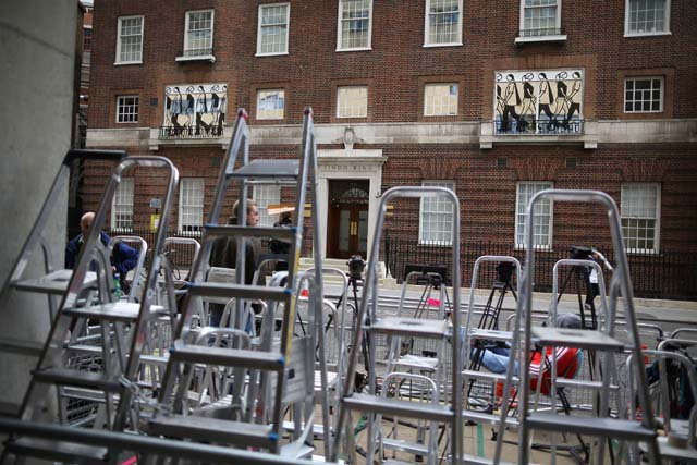 St. Mary's, Lindo Wing, Royal Baby, Royal Baby Watch, Kate Middleton, Labor, Prince William, Paparazzi, Photographers, Camped Out, Birth, Wikipedia