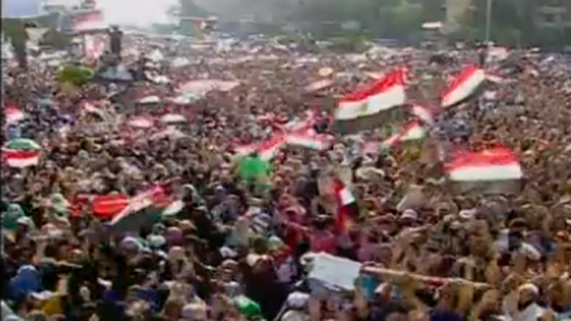 egypt day of rage pro-morsi protests