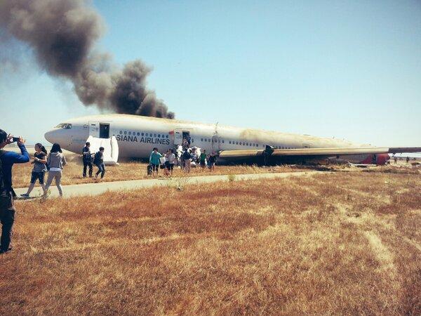 san francisco plane crash asiana